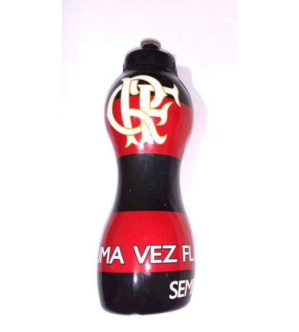 Squeeze De Plastico Do Flamengo 590 ML