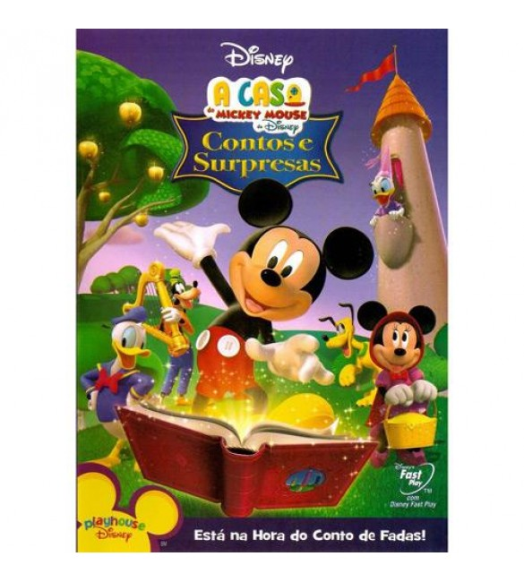 DVD A Casa do Mickey Mouse - Contos e Surpresas