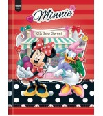 Caderno Top Minnie Universitário com Capa Dura Brochura - 96 fls.-Tilibra ​