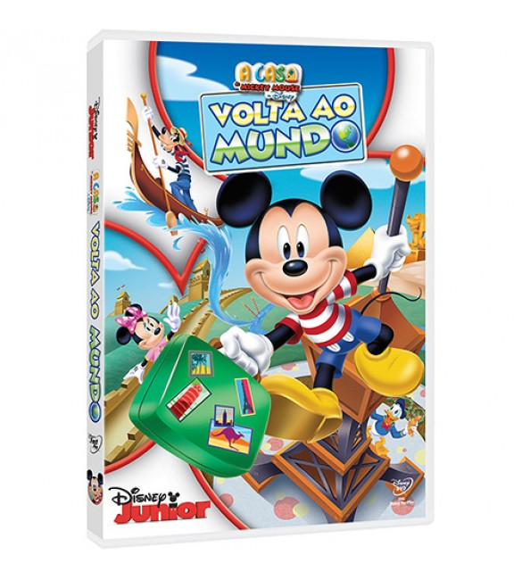 DVD A Casa do Mickey Mouse da Disney - Volta ao Mundo