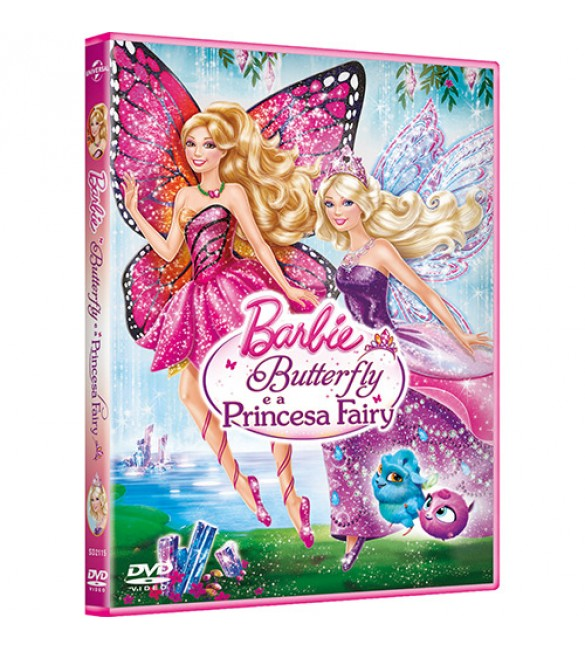 DVD Barbie Butterfly e a Princesa Fairy