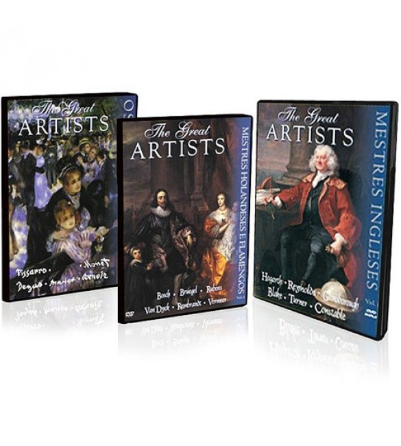 DVD-Box  - The Great Artists (5DVDs)
