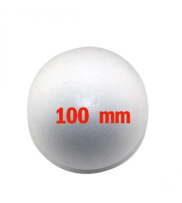 Bola De Isopor Maciça 100mm  - SKnauf - 01 Unidade