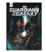 Caderno Top Guardians of the Galaxy Universitário com Capa Dura Brochura - 96 fls.-Tilibra ​