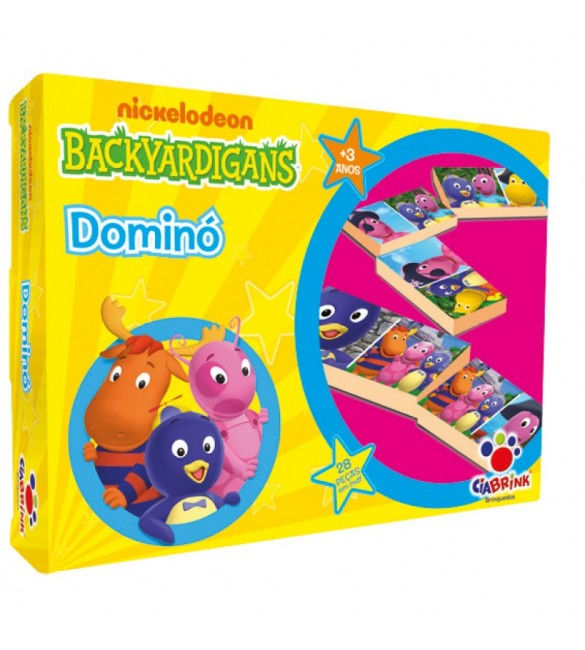 Domino Backyardigans Nickelodeon 28 pecas