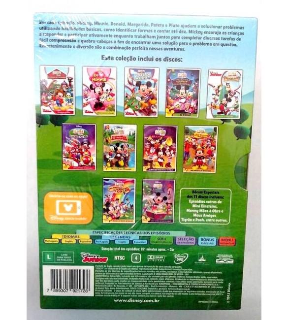 Dvd-Box A Casa do Mickey Mouse - Coleção Com 11 DVDs d3ed325ce83