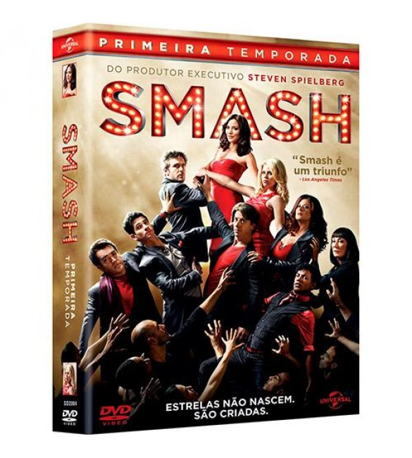 DVD-Box Smash - 1ª Temporada - 5 discos