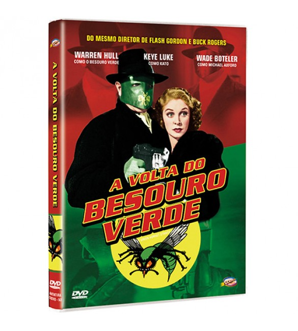 DVD A Volta do Besouro Verde (DVD) 2 discos