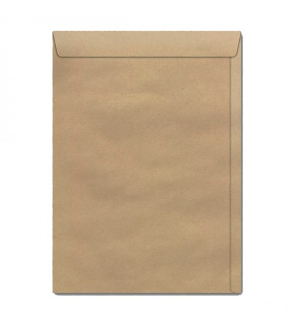 ENVELOPE SACO KRAFT NATURAL 80G 176X250 Pte/50 unidades