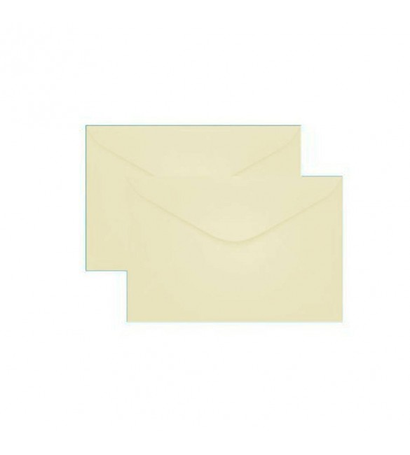 Envelope Carta Colorido 114x162mm Creme  80g Cx.C/100 - Tilibra