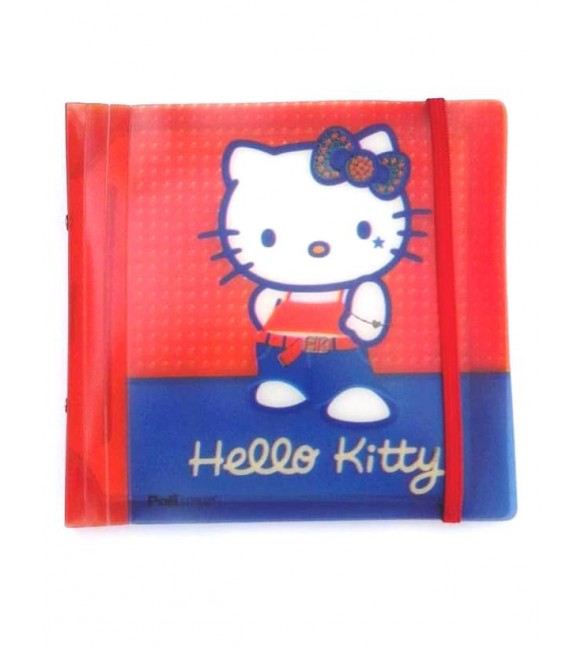 zPorta CD/DVD Hello Kitty para 20 discos - polibras