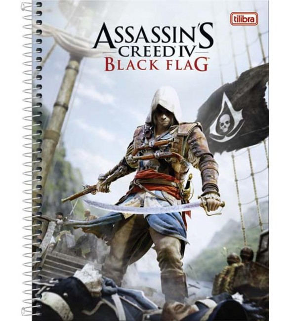 Caderno Universitario Assassins Creed 200 fls