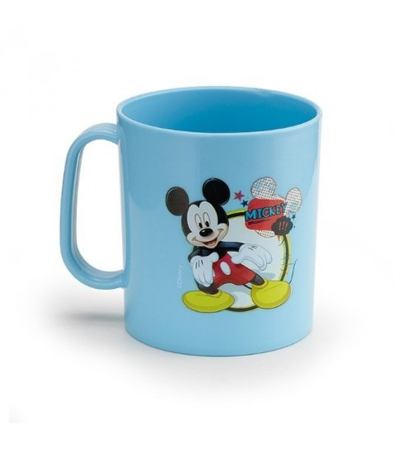 Caneca Infantil  Plastica 400ml - Mickey Mouse Disney