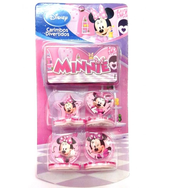 Carimbos Divertidos Turma do Minnie - Amatoy