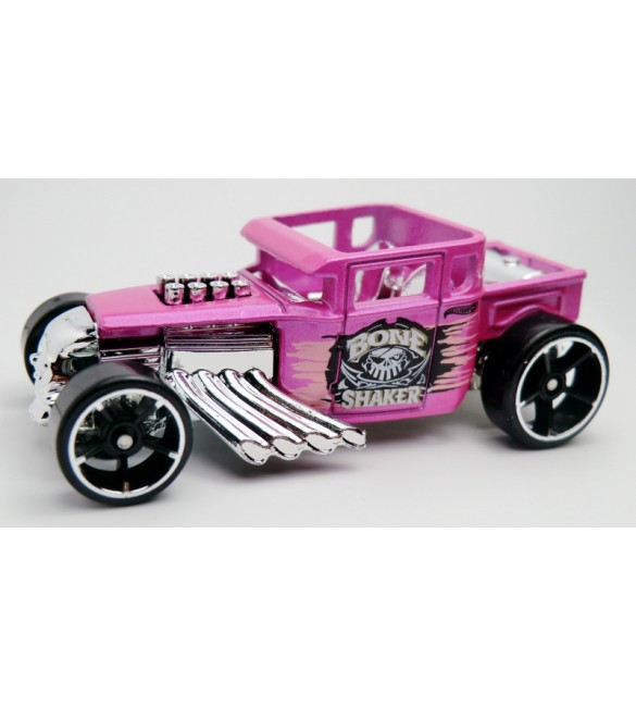 Hot Wheels - Bone Shaker (pink)