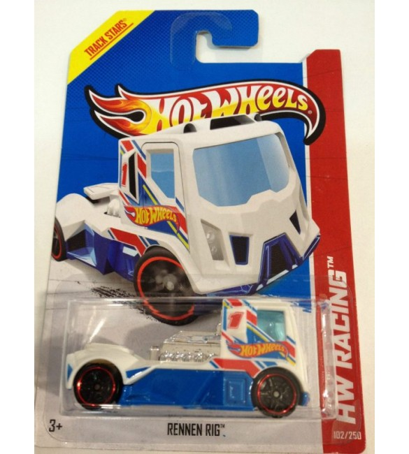 Hot Wheels - Rennen Rig