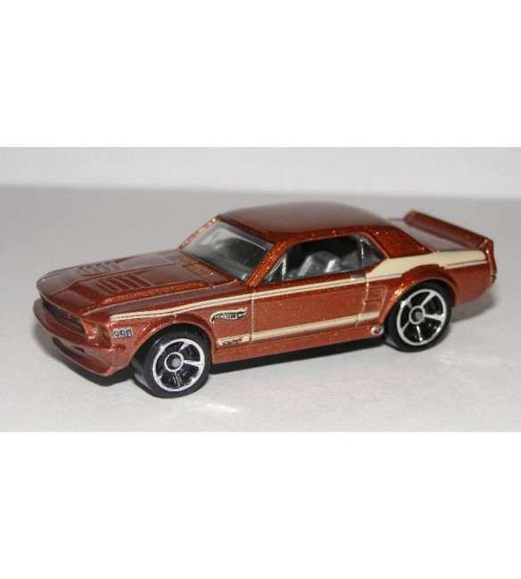 Hot Wheels  -  67 FORD  MUSTANGE