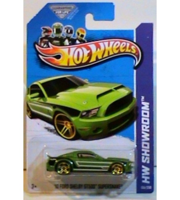 Hot Wheels - 10 FORD SHELBY gt 500 supersnake