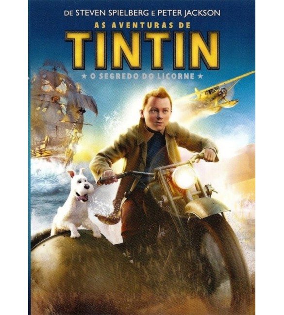 DVD As Aventuras de Tintim