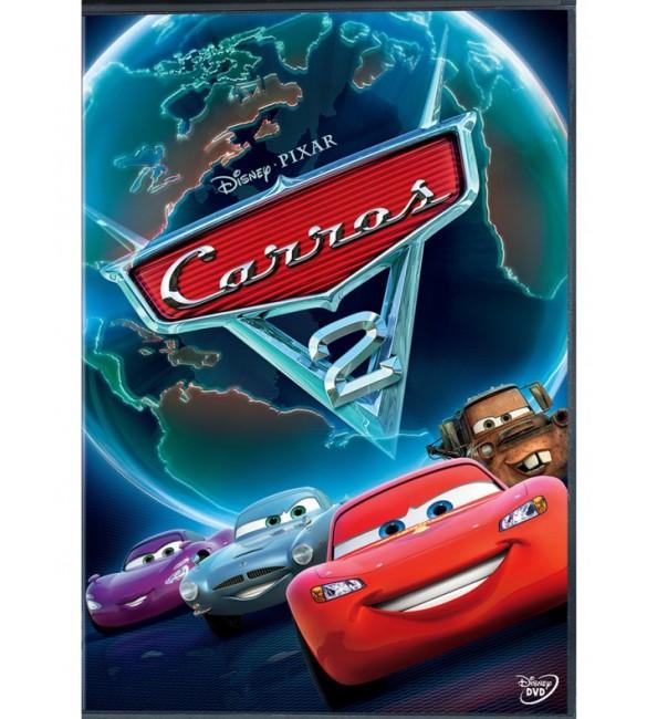 dvd carros 2 desenho animado