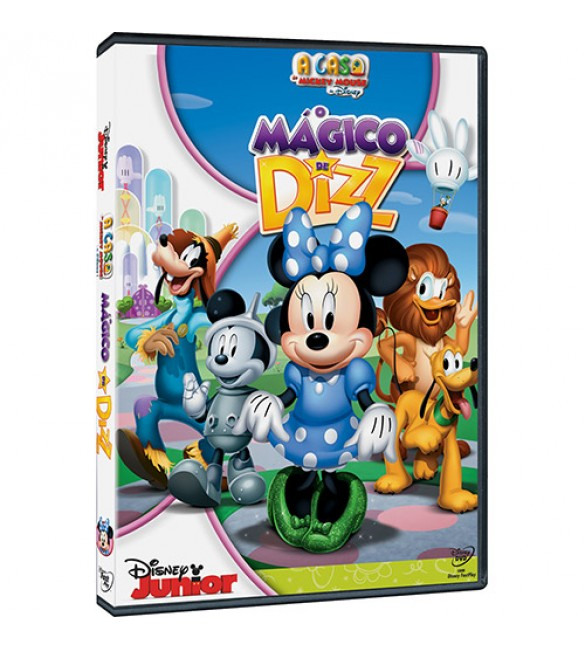 DVD A Casa do Mickey Mouse: O Mágico de Dizz
