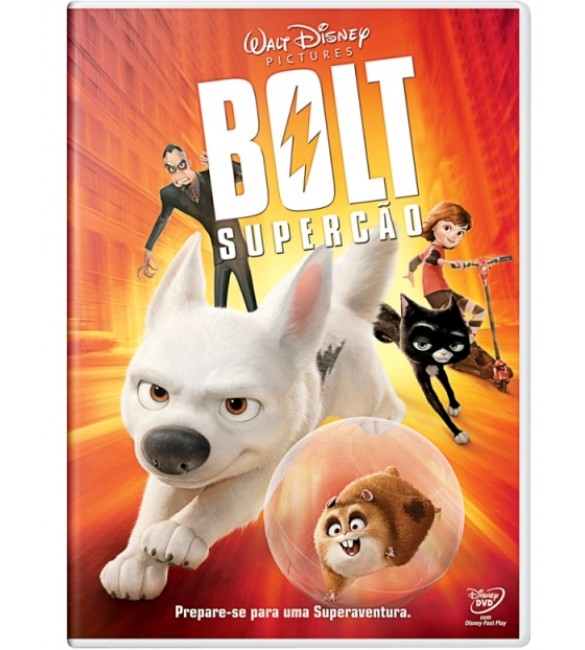 DVD Bolt O Supercão - Disney