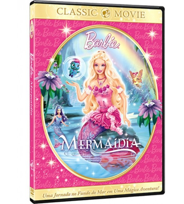 DVD Barbie: Mermaidia - UNIVERSAL