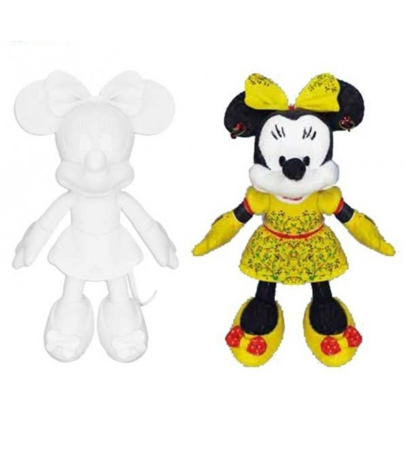 Pelúcia da Minnie Mouse Creative Color - disney