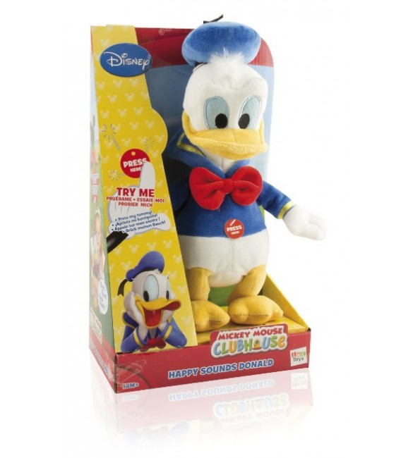 Pelucia Pato Donald Happy Sounds