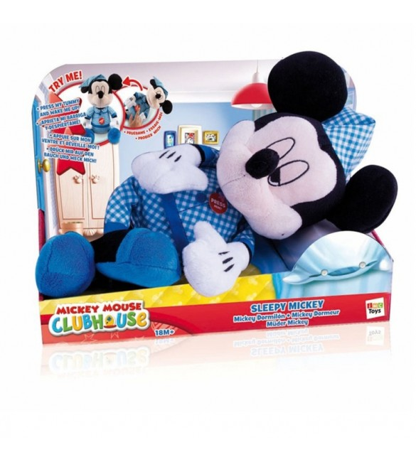 Pelúcia Sleepy Mickey - Multikids
